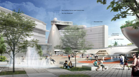 THEEAE Architects Shopping Center Persepctive